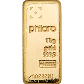 Gold bar 1000g - philoro