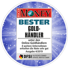FOCUS MONEY gold dealer test 2019: philoro multiple test winner