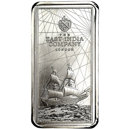 Silver SAINT HELENA - 250 g Coin Bar 2021 - differential taxation