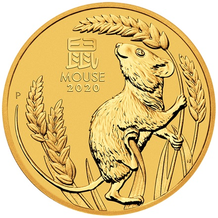 Gold Lunar III 1/20 oz - Mouse