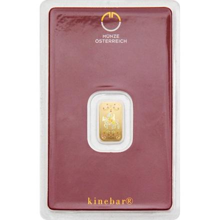 Gold bar 1g - Austrian Mint