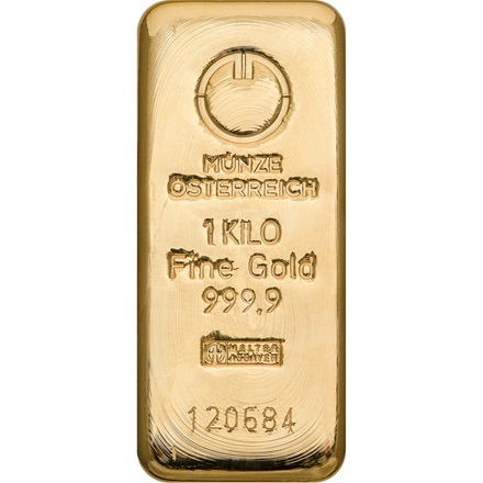 Gold bar 1000g - Austrian Mint
