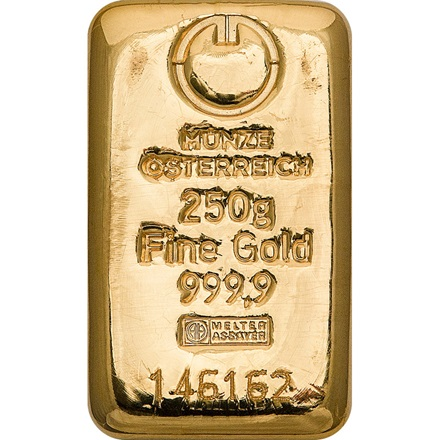 Gold bar 250g - Austrian Mint