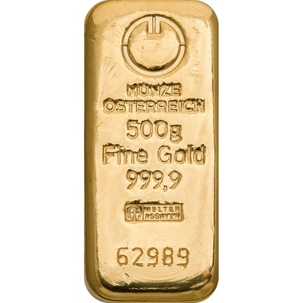 Gold bar 500g - Austrian Mint
