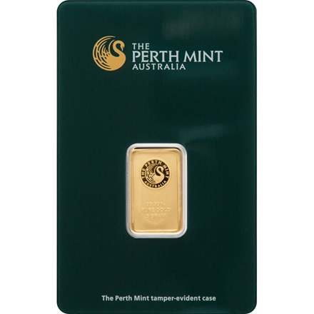 Gold bar 5g - Perth Mint