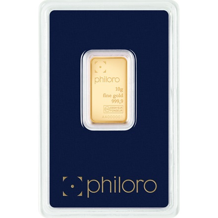 Gold bar 10g - philoro