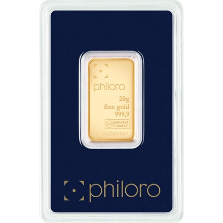 Gold bar 20g - philoro