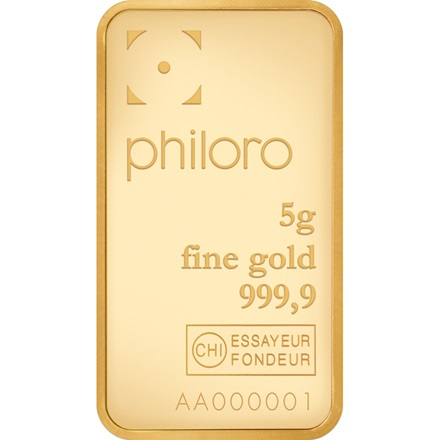 Gold bar 5g - philoro