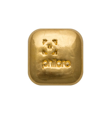Gold bar 1 oz cast - philoro