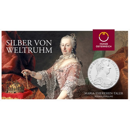 Silver Maria Th. Taler Blister
